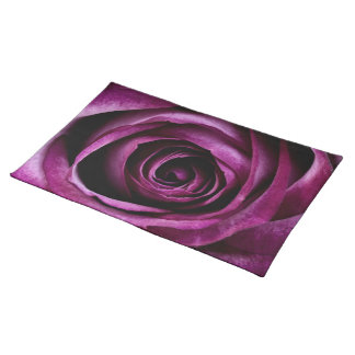 Deep Purple Rose Placemat
