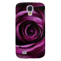 Deep Purple Rose Samsung S4 Case
