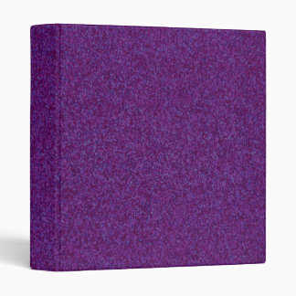 Deep Purple Sparkly Bits 3 Ring Binder