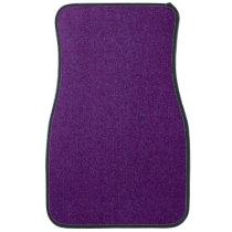 Deep Purple Sparkly Bits Car Floor Mat