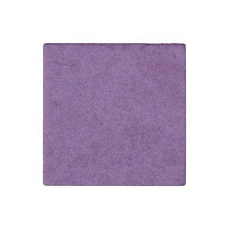 Deep Purple Sparkly Bits Stone Magnet