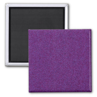 Deep Purple Sparkly Bits 2 Inch Square Magnet