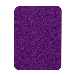 Deep Purple Sparkly Bits Rectangular Photo Magnet