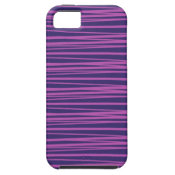 Deep Purple Stripes Pattern Gifts iPhone 5 Case