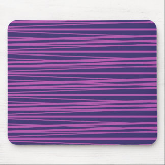 Deep Purple Stripes Pattern Gifts Mouse Pad
