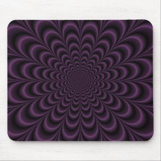 Deep Purple Succulent Mousepad