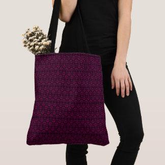 Deep-Purple-Vintage-Totes-Shoulder-Bag Tote Bag