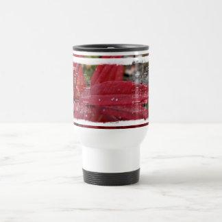 Deep Red Leaves; 2012 Calendar Travel Mug