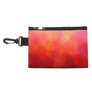Deep Red Orange Yellow Watercolor Background Accessories Bag