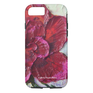 Deep Red Rose iPhone 7 case