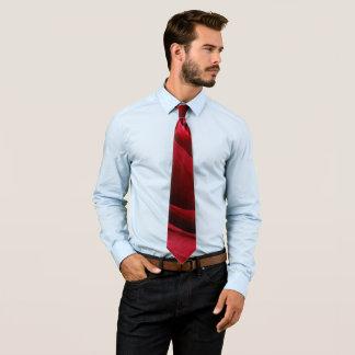 deep red rose tie