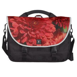Deep Red Serenity Laptop Messenger Bag