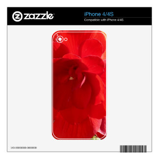 Deep Red Skins For The iPhone 4S