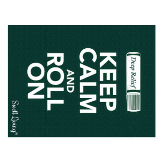 Deep Relief-Keep Calm and Roll Info Card
