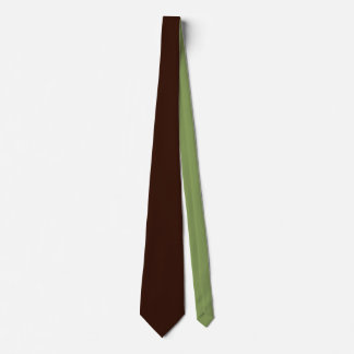 Deep Rich Brown color background Customizable Tie