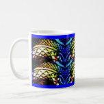 Deep Rich Jewels Glass Coffee Mugs