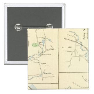 Deep River, Ivoryton, Centre Brook, Essex Pinback Button