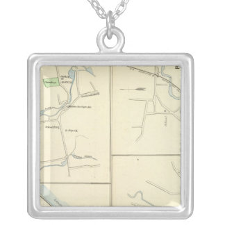 Deep River, Ivoryton, Centre Brook, Essex Silver Plated Necklace