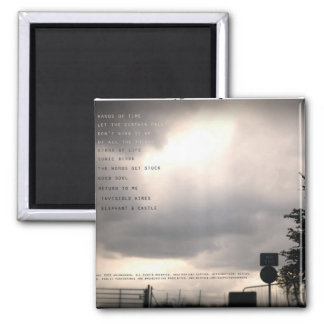 Deep River Running Album Gifts 2 Inch Square Magnet