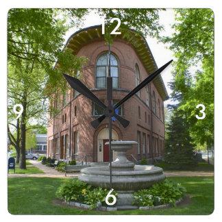 Deep River Town Hall Wall Clock