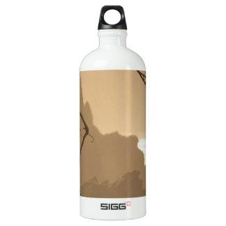 Deep Roots Aluminum Water Bottle
