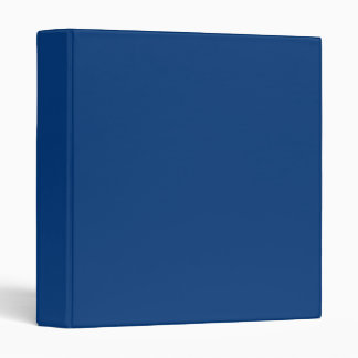Deep royal blue 3 ring binder