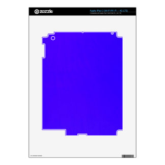 DEEP ROYAL BLUE  SOLID COLORS 211 BACKGROUNDS WALL iPad 3 DECALS