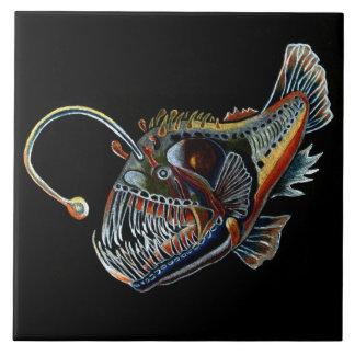 Deep Sea Angler Fish decorative tile