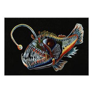 Deep Sea Angler Fish photo print