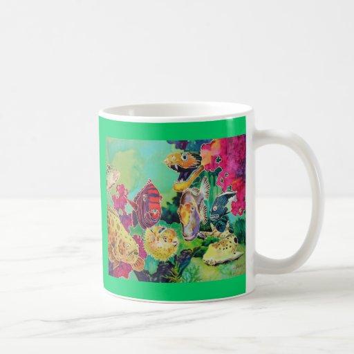 Deep Sea Beauties Tropical Fish Coffee Mug