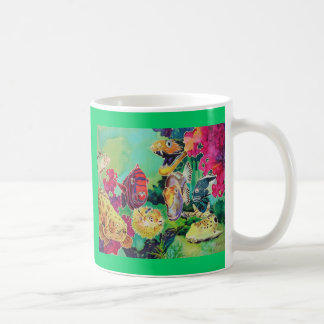 Deep Sea Beauties Tropical Fish Classic White Coffee Mug