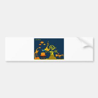 Deep Sea Birthday 5x7.jpg Bumper Sticker