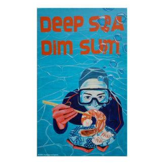 Deep Sea Dim Sum Poster