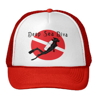 Deep Sea Diva Trucker Hat
