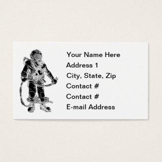 Deep Sea Diver Business Card