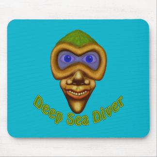 Deep Sea Diver Mouse Pad
