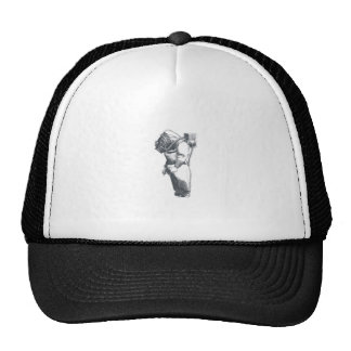 Deep Sea Diver Nautical Design Trucker Hat