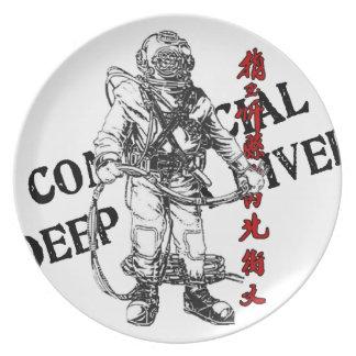 Deep Sea Diver plate