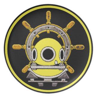 Deep Sea Diving Helmet plate