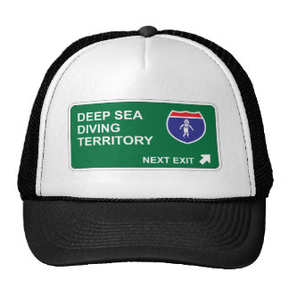 Deep Sea Diving Next Exit Trucker Hat