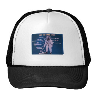 Deep Sea Diving Outfit Trucker Hat