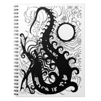 Deep Sea Dragon notebook (Silhouette)