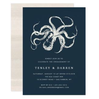 Deep Sea   Engagement Party Invitation