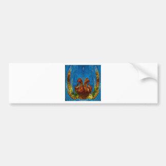 Deep Sea Exotic Flora Fauna - Graphic Imagination Bumper Stickers