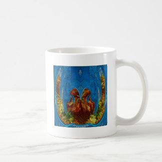 Deep Sea Exotic Flora Fauna - Graphic Imagination Coffee Mugs