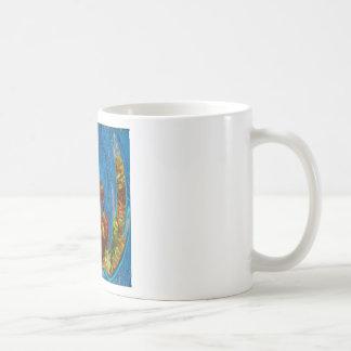 Deep Sea Exotic Flora Fauna - Graphic Imagination Coffee Mug