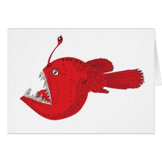 deep sea fish card