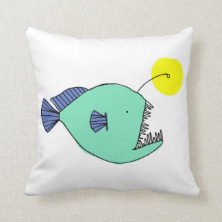 Deep Sea Fish Cushion Pillow