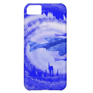 Deep Sea Fish Movement - Graphic Art iPhone 5C Case
