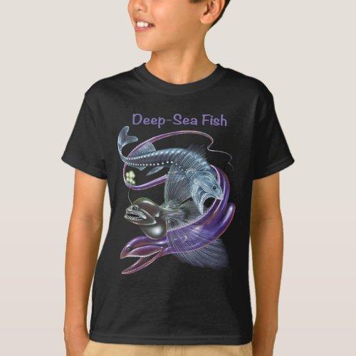 Deep Sea Fish T_shirt